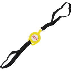 ABUS Memo Roll Up Cable Herinneringskabel, zwart-geel, Eén maat