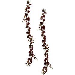 Kunstpflanze Weinranke, I.GE.A., Höhe 160 cm, 2er Set lila