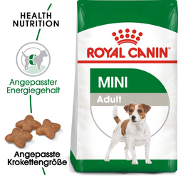 ROYAL CANIN MINI Adult Trockenfutter für kleine Hunde 16 kg (2 x 8kg)