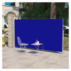 vidaXL Sonnenschirm Terrassenmarkise Seitenmarkise 160 x 300 cm Blau blau