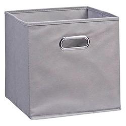 Zeller Aufbewahrungsbox 30,0 l grau 32,0 x 32,0 x 32,0 cm