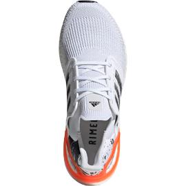 adidas Ultraboost 20 M white/core black/signal coral 44 2/3