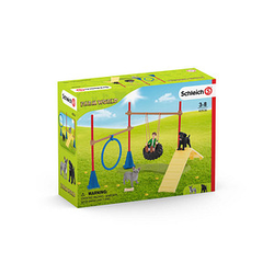 Schleich® Farm World 42536 Spielspaß für Hunde Spielfiguren-Set
