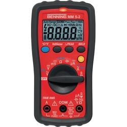 Multimeter MM 5-2 0,1 mV-600 V AC/DC TRUE RMS BENNING