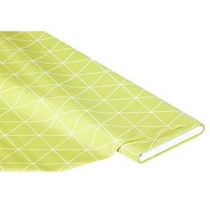 """Abwaschbare Tischwäsche - Wachstuch """"Dreieck"""", hellgrün"""