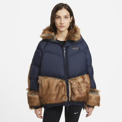 Nike x sacai Damenparka - Blau, size: XL