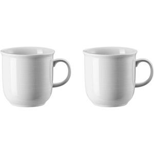 2 x Becher mit Henkel groß - Trend Weiß - Thomas - 11400-800001-15571 -