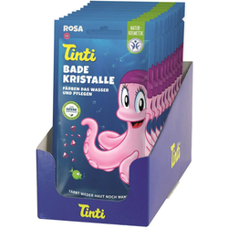 TINTI Badekristalle rosa 60 g