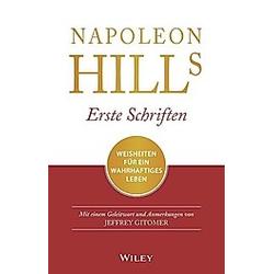 Napoleon Hills erste Schriften. Napoleon Hill  - Buch