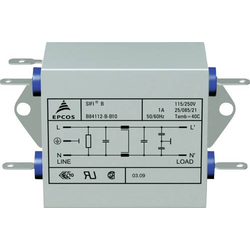 TDK B84112BB120 Entstörfilter flammhemmend 250 V/AC 20A 1.8 mH (L x B x H) 84 x 125 x 38.1mm 1St.