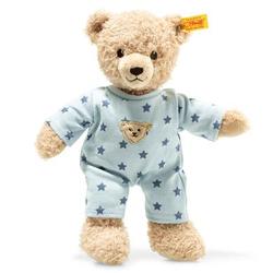 Steiff Teddy and Me Teddybär Junge Baby mit Schlafanzug, 25cm