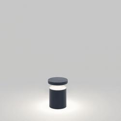 Bazil 126 - Alu grau / Alu eloxiert - Höhe 71,5cm