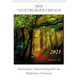 Der Neuenburger Urwald (Wandkalender 2021 DIN A4 hoch)