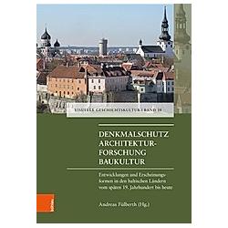Denkmalschutz - Architekturforschung - Baukultur - Buch