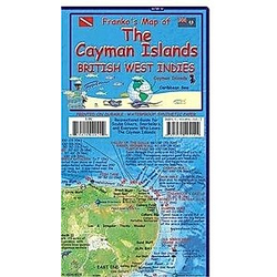 Franko Maps Franko's Cayman Islands  British West Indies Guide & Dive Map - Buch