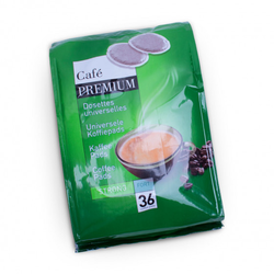 "Kaffeepads Coffee Premium ""Strong"", 36 Stk."