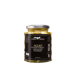 Knoblauch in Olivenöl, Glas, 290 g - Agraria Riva del Garda