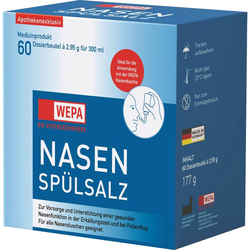 WEPA Nasenspülsalz 177 g