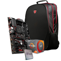 MSI MPG X570 GAMING PLUS Gaming + AMD Ryzen 3700X Bundle inkl. MSI Gaming Rucksack