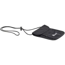 Unisex Brustbeutel mit 4 Taschen, 1 Stifthalter, 255 x 145 mm, schwarz