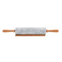 Nordwik Nudelholz Marmor 46 cm