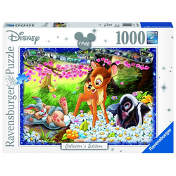 Ravensburger Puzzle Ravensburger 19677 Disney Bambi 1000 Teile Puzzle, 1000 Puzzleteile