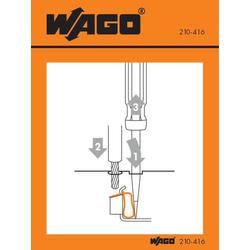 WAGO 210-416 Handhabungsaufkleber 100St.