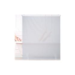 relaxdays Duschrollo Duschrollo weiß Breite 140 cm 140 cm x 240 cm
