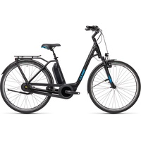 Cube Town RT Hybrid Pro 500 2021 28 Zoll RH 58 cm Easy Entry black'n'blue