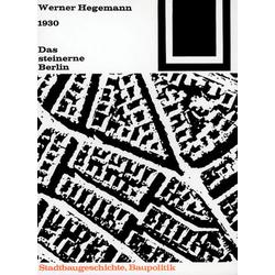 Das steinerne Berlin als Buch von Werner Hegemann