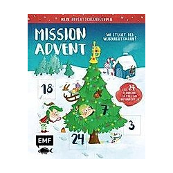Mein Adventskalender-Buch: Mission Advent - Buch