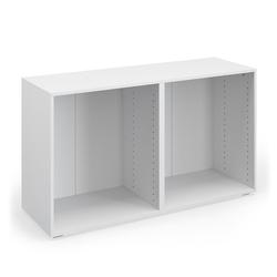 Vicco Sideboard Schrank COMPO M3 weiß Regal Aktenschrank Bücherregal Standregal Büro