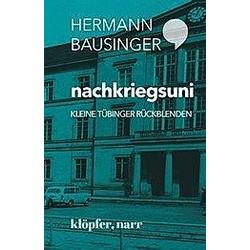 nachkriegsuni. Hermann Bausinger  - Buch