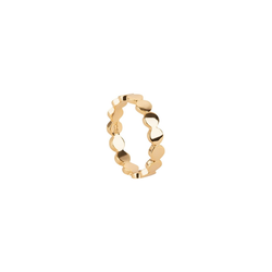 TOSH L Ring in geometrischem Design