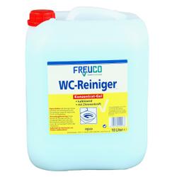 Freuco WC-Reiniger Gel, auf Zitronensäure-Basis, 10 l - Kanister