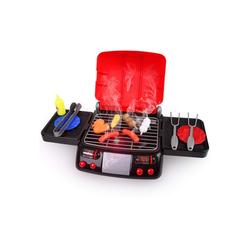 LBLA Lernspielzeug (Küche Kinder mit Licht Ton Dampf (Barbecue), Kinderküche Spielzeug, 3 Jahre Mädchen Junge), Küchen Spielzeug, Essen Spielzeug, Lebensmittel Spielzeug
