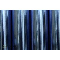 Oracover 21-097-010 Bügelfolie (L x B) 10m x 60cm Chrom-Blau