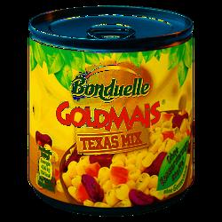 Bonduelle Goldmais Texas Mix mit Bohnen und Paprika 300g 6er Pack