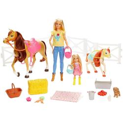 Barbie Anziehpuppe Reitspaß mit Puppe