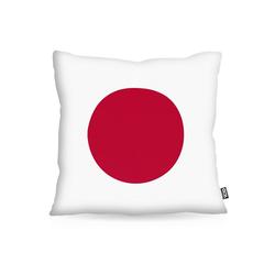 Kissenbezug, VOID, Japan Flagge Fahne Fan-Outdoor WM Olympia Sport 60 cm x 60 cm