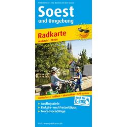 Soest und Umgebung 1:75 000