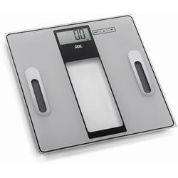 "ADE Körperanalysewaage ""Tabea"" schwarz/silber Tragkraft 180 kg/Teilung 100 g"