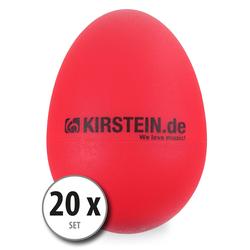 20x Kirstein ES-10R Egg Shaker rot Light Set