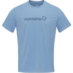 Norrona - Norrona Tech T-Shirt W Coronet Blue - T-Shirts - Größe: S