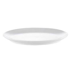 Pillivuyt Cecil Teller Oval Weiß 32x24,5 cm
