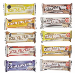 Body Attack Carb Control Riegel 100g - Body Attack Sports Nutrition - Nut Nougat