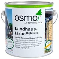 Osmo Landhausfarbe 2,5 Liter Steingrau Wandfarbe