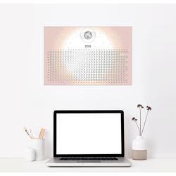 Posterlounge Wandbild, Mondkalender 2021 130 cm x 90 cm