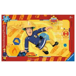 Ravensburger Rahmenpuzzle Sam In Aktion - Rahmenpuzzle, 15 Puzzleteile bunt