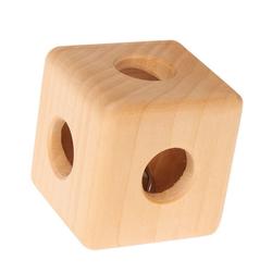GRIMM´S Spiel und Holz Design Lernspielzeug, Rassel Würfel
